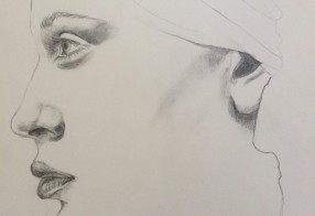 Woman's face en profil