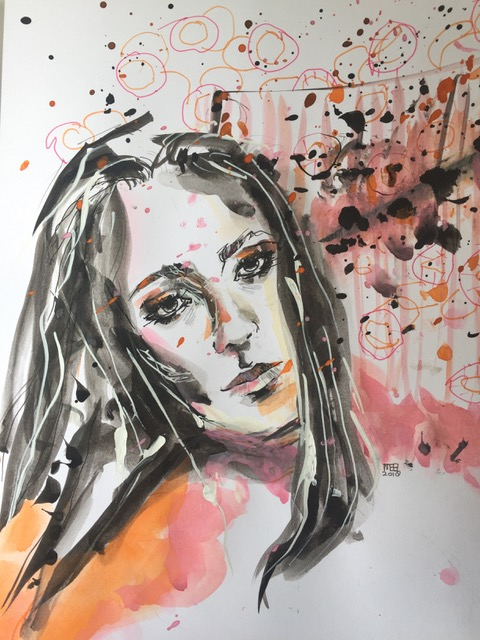 Sandra Burchartz - Sketch explosion