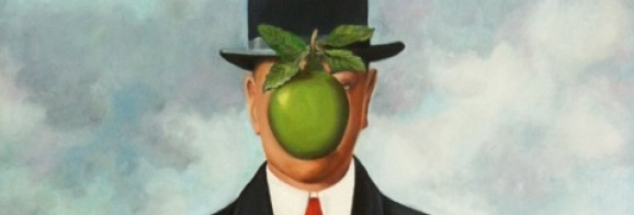 Reproduction of R. Magritte