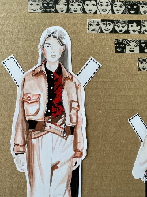 paper doll 1 detail
