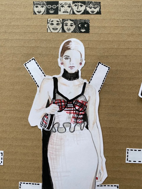 paper doll 2 detail